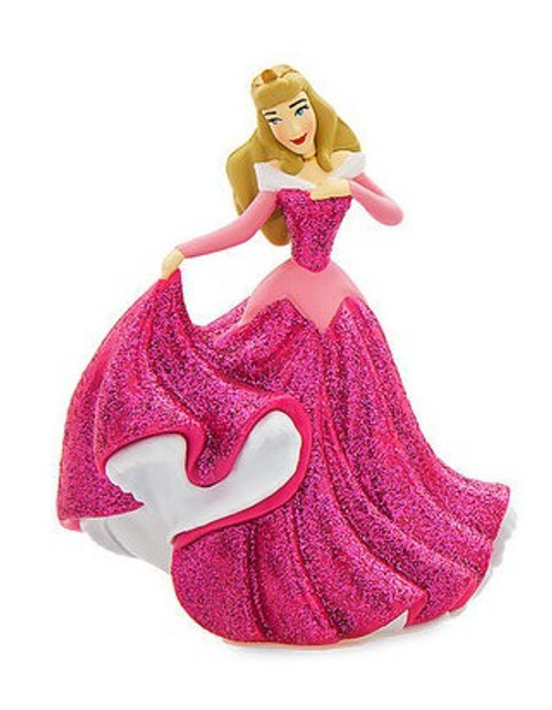 Disney Princess Sleeping Beauty Aurora In Pink Dress Exclusive 3-Inch PVC Figure [Glitter Loose]