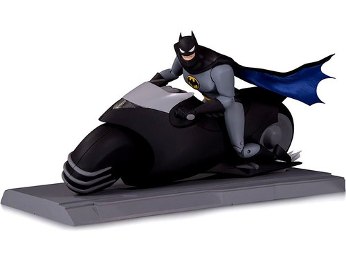 The Animated Series Batman on Batcycle Action Figure & Vehicle