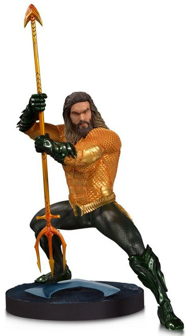 DC Aquaman Movie Aquaman 10.4-Inch Collectible Statue