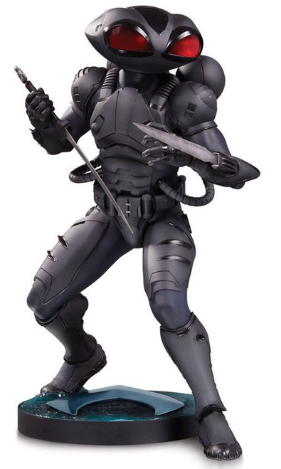 DC Aquaman Movie Black Manta 12.4-Inch Collectible Statue