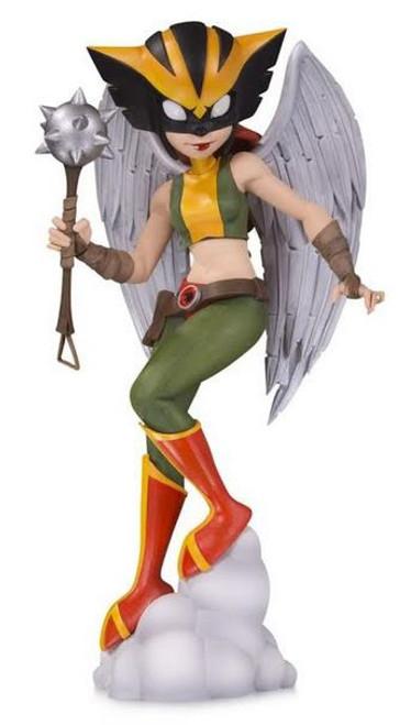 DC Artist Alley Hawkgirl 6.9-Inch PVC Collector Statue [Chrissie Zullo]