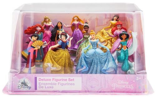 Disney Princess ''Happily Ever After'' Exclusive 11-Piece PVC Figure Play Set