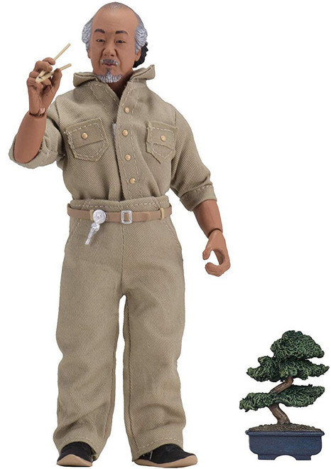 NECA The Karate Kid (1984) Mr. Miyagi Clothed Action Figure (Pre-Order ships July)