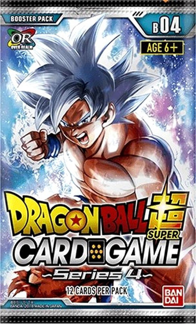 Dragon Ball Super Collectible Card Game Series 4 Colossal Warfare Booster Pack [12 Cards]