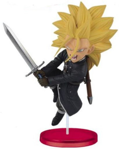 Super Dragon Ball Heroes WCF Figure Collection Vol.2 Super Sayian 3 Trunks 2.75-Inch Collectible PVC Figure [Xenoverse]