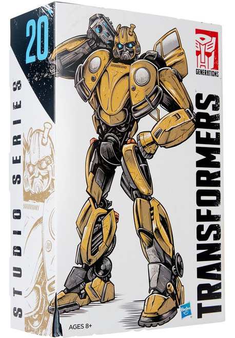 Transformers Generations Studio Series Bumblebee with G1 Tapes Deluxe Action Figure #20 [Vol. 2, Retro Pop Highway]