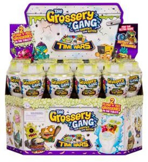 The Grossery Gang Series 5 Time Wars Mystery Box [28 Packs]
