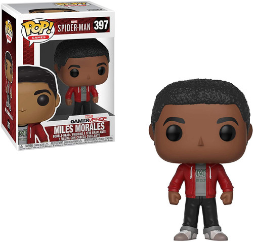 Funko Marvel Gamerverse Spider-Man POP! Games Miles Morales Vinyl Bobble Head #397