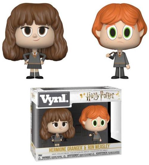 Funko Harry Potter Vynl. Ron Weasley & Hermione Granger Exclusive Vinyl Figure 2-Pack [Broken Wand]