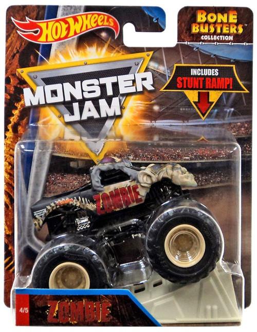 Hot Wheels Monster Jam Bone Busters Zombie Die-Cast Car