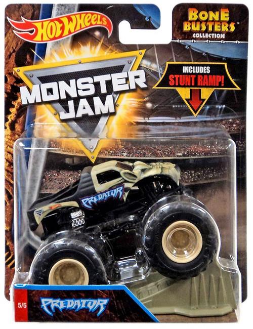 Hot Wheels Monster Jam Bone Busters Predator Die-Cast Car