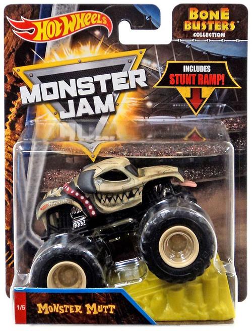 Hot Wheels Monster Jam Bone Busters Monster Mutt Diecast Car