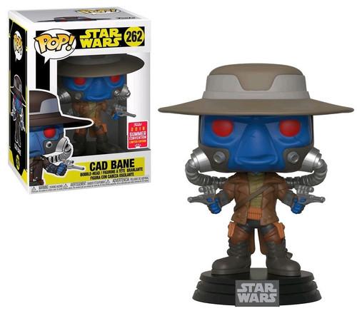 Funko The Clone Wars POP! Star Wars Cad Bane Exclusive Vinyl Bobble Head #262
