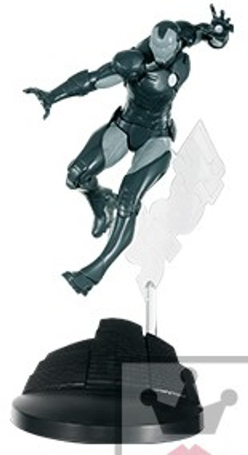 Marvel Creator Series Iron Man 6.2-Inch Collectible PVC Figure [Gray & Silver]