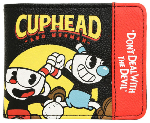 Cuphead Don't Deal with the Devil Wallet