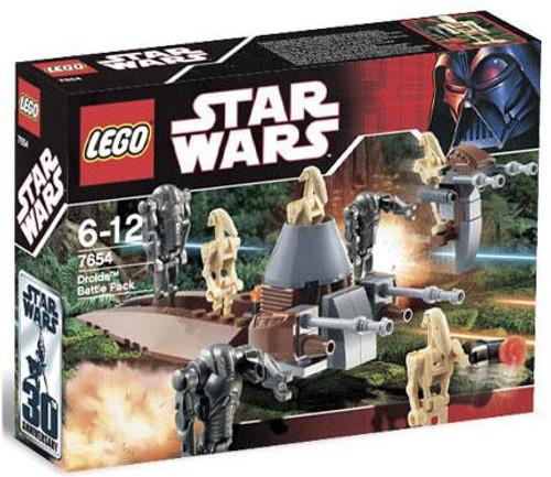 LEGO Star Wars Revenge of the Sith Droids Battle Pack Set #7654 [Damaged Package]