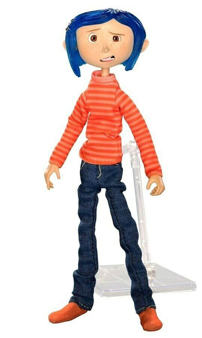 NECA Coraline 7-Inch Articulated Figure [Striped Shirt & Jeans]