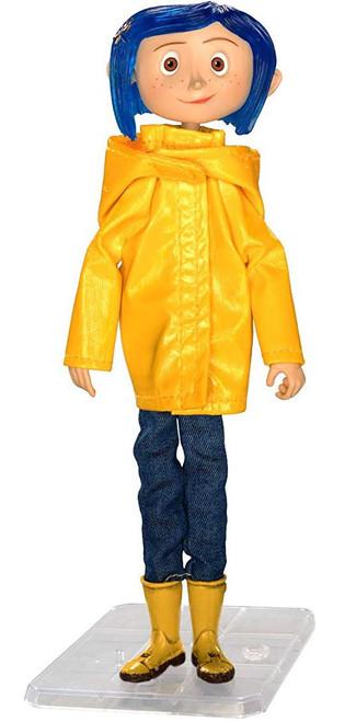 NECA Coraline 7-Inch Articulated Figure [Raincoat]