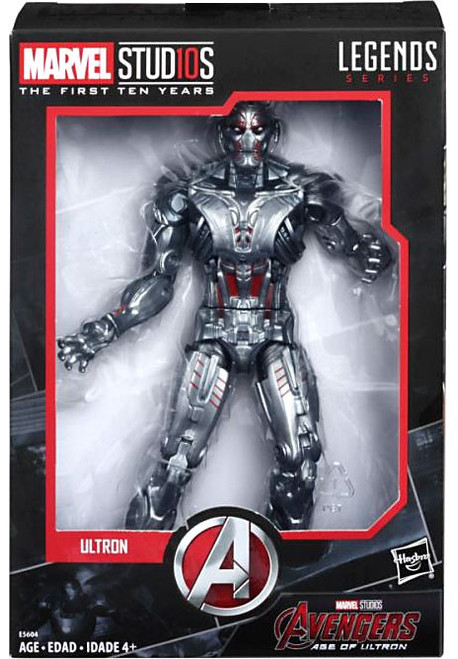 Avengers Marvel Studios: The First Ten Years Marvel Legends Ultron Action Figure