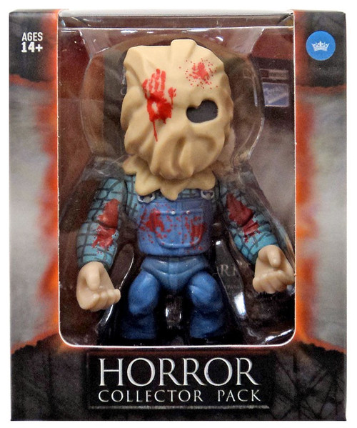 Horror Friday the 13th Sack Head Jason Exclusive Vinyl Figure [Bloody]