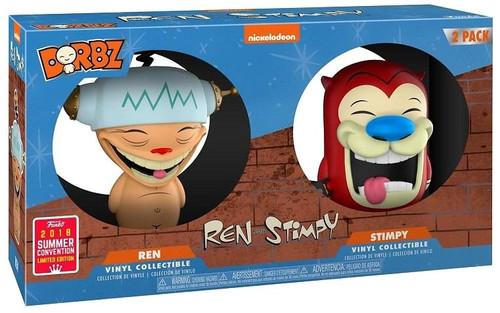 Funko Nickelodeon 90's Nick Dorbz Ren & Stimpy Exclusive Vinyl Figure 2-Pack