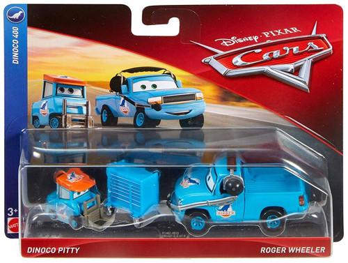 Disney / Pixar Cars Cars 3 Dinoco 400 Dinoco Pitty & Roger Wheeler Diecast 2-Pack