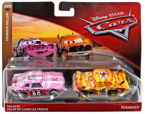 Disney / Pixar Cars Cars 3 Thunder Hollow Tailgate & Pushover Diecast Car