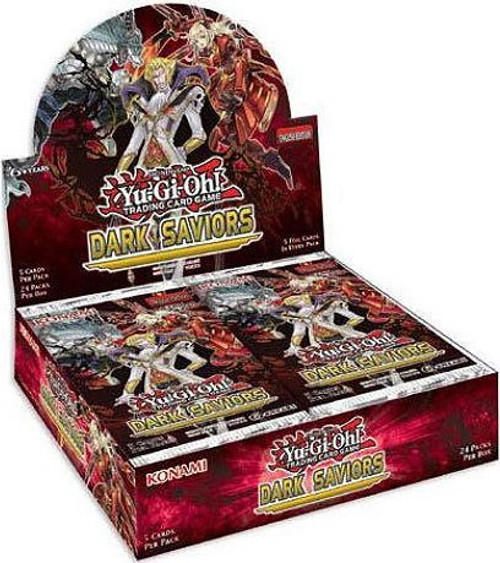 YuGiOh Trading Card Game Dark Saviors (Unlimited) Booster Box [24 Packs]