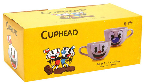 Cuphead Latte Mug Set