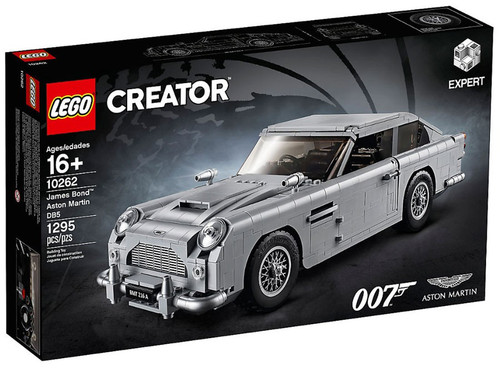 LEGO Creator James Bond 007 Aston Martin DB5 Set #10262