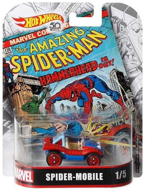 Hot Wheels Marvel The Amazing Spider-Man Spider-Mobile Diecast Car #1/5
