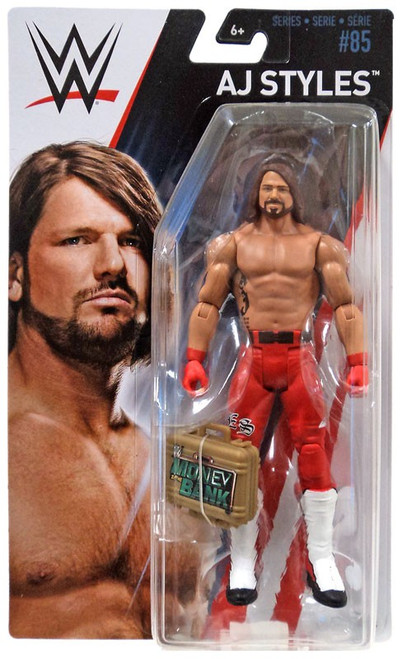 WWE Wrestling Series 85 AJ Styles Action Figure [Money in the Bank]