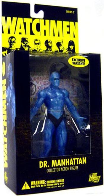DC Watchmen Series 2 Dr. Manhattan Action Figure [Translucent]