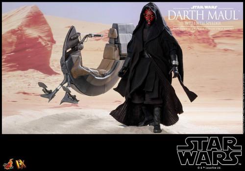 Star Wars Phantom Menace Movie Masterpiece DX Darth Maul with Speeder Collectible Figure DX17 [Deluxe Version]
