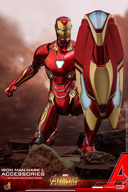 Marvel Avengers Infinity War Movie Masterpiece Diecast Iron Man Mark 50 Accessory Set ACS004 (Pre-Order ships November)