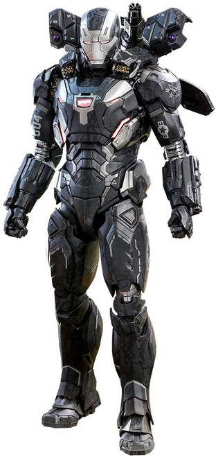 Marvel Avengers Infinity War Movie Masterpiece War Machine Mark IV Diecast Collectible Figure [Infinity War]