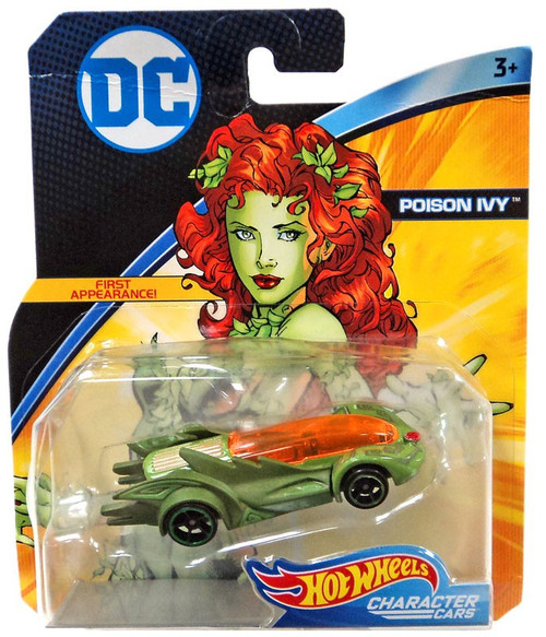Hot Wheels DC Character Cars Poison Ivy Die-Cast Car