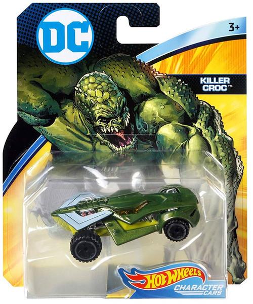 Hot Wheels DC Character Cars Killer Croc Die-Cast Car