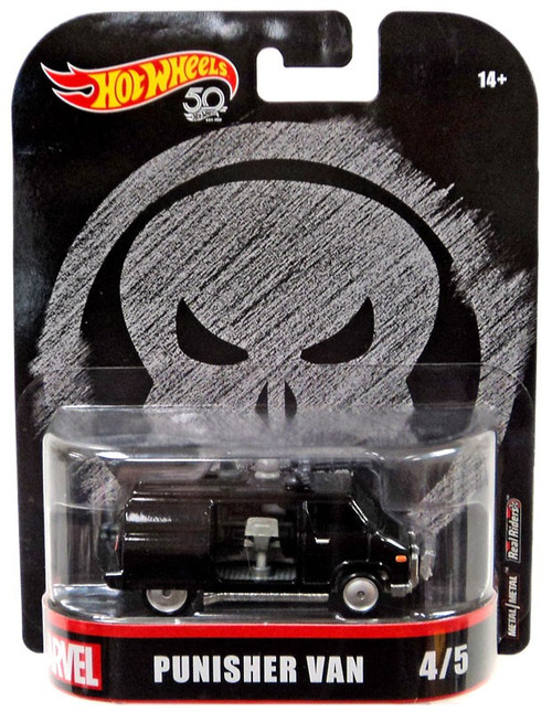 Hot Wheels Marvel The Punisher Punisher Van Die-Cast Car #4/5