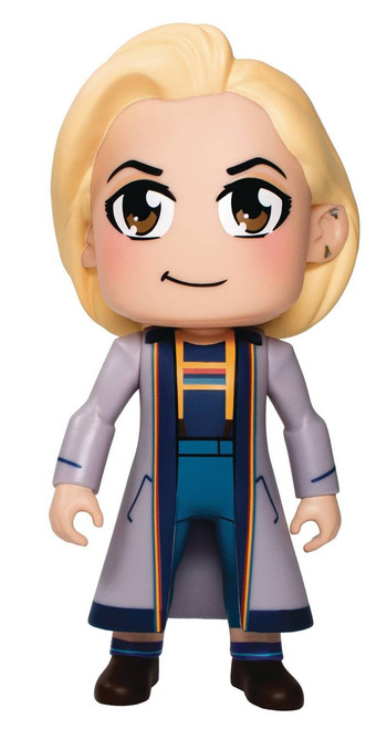 Doctor Who Kawaii 13th Doctor Exclusive 6.5-Inch Collectible Figure [Blue Coat]