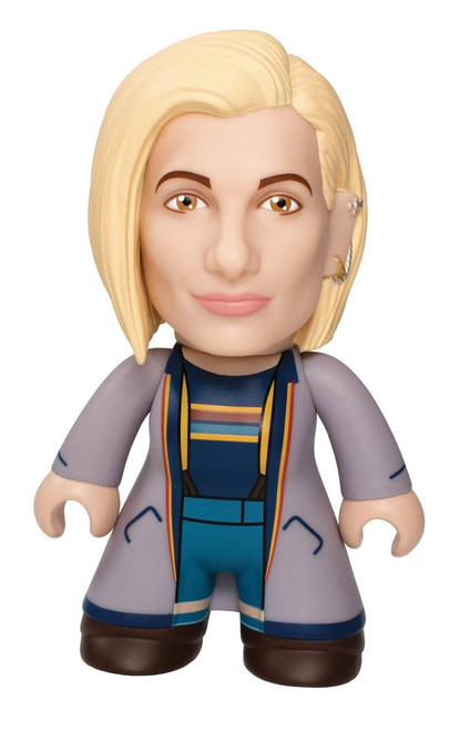 Doctor Who 13th Doctor 6.5-Inch Vinyl Figure [Blue Coat]