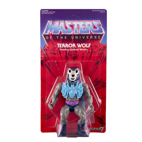 Masters of the Universe Vintage Series Exclusive Terror Wolf Action Figure