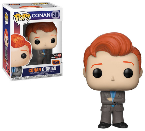 Funko POP! TV Conan O'Brien Exclusive Vinyl Figure #20