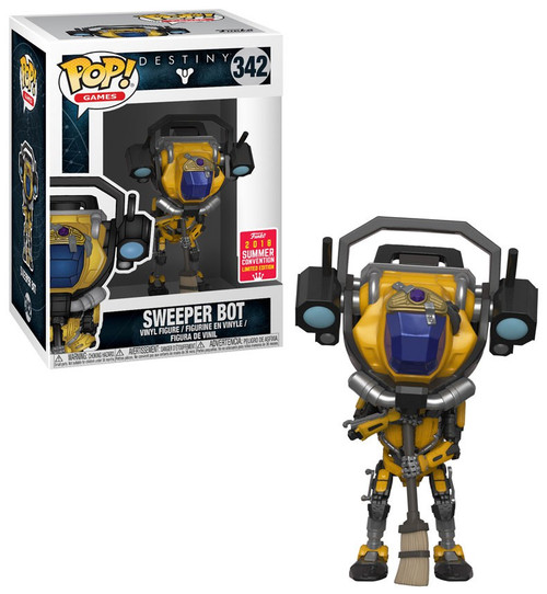 Funko Destiny POP! Games Sweeper Bot Exclusive Vinyl Figure