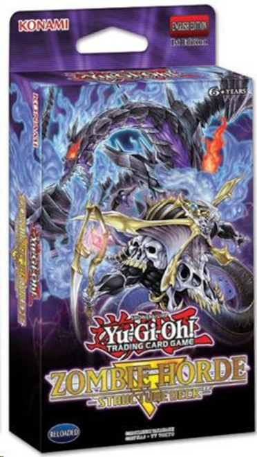YuGiOh Trading Card Game Zombie Horde Structure Deck