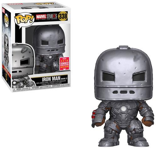 Funko POP! Marvel Iron Man Exclusive Vinyl Bobble Head [Mark 1]
