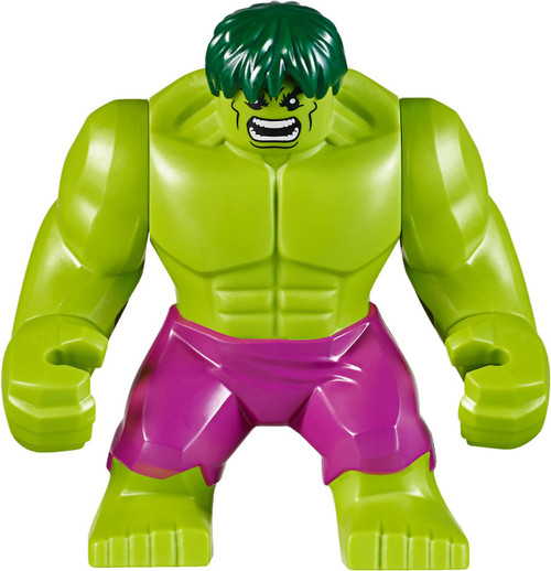 LEGO Marvel Super Heroes The Incredible Hulk Minifigure [Magenta Pants Loose]