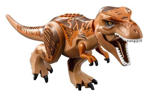 LEGO Jurassic World Tyrannosaurus Rex with Dark Orange and Dark Brown Back [Loose]
