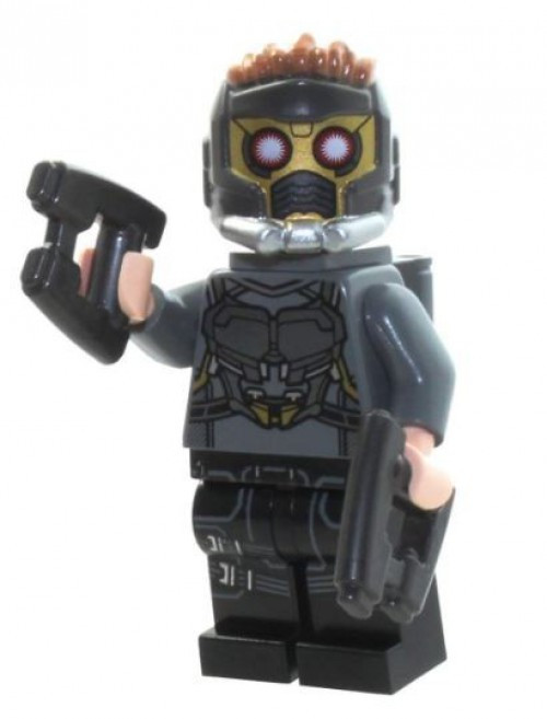 LEGO Marvel Guardians of the Galaxy Vol. 2 Star-Lord Minifigure [Silver Armor and Jet Pack Loose]