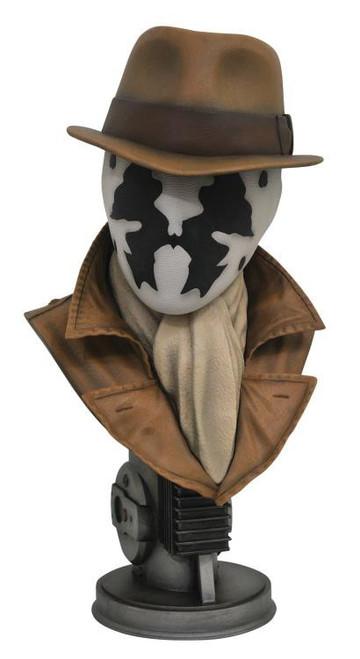 DC Watchmen Legendary Film Rorschach Half-Scale Bust